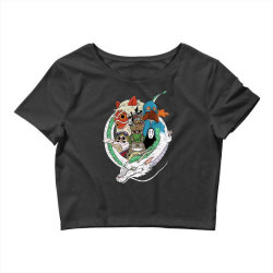 studio ghibli Crop Top | Artistshot