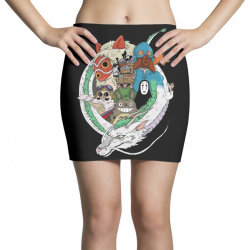 studio ghibli Mini Skirts | Artistshot