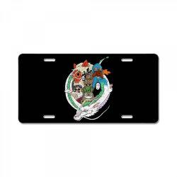 studio ghibli License Plate | Artistshot