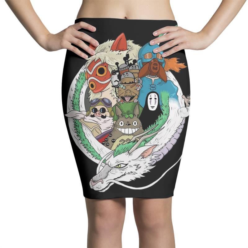 Studio Ghibli Pencil Skirts | Artistshot