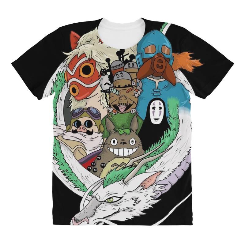 Studio Ghibli All Over Women's T-shirt | Artistshot