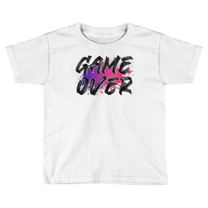 Game Over For Light Toddler T-shirt Designed By Sengul