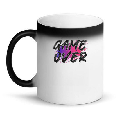 Game Over For Light Magic Mug Designed By Sengul