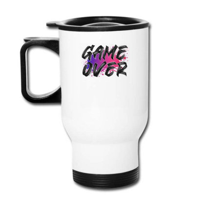 Game Over For Light Travel Mug Designed By Sengul