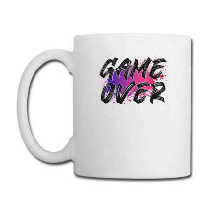 Game Over For Light Coffee Mug Designed By Sengul