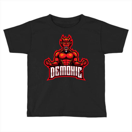 Demonic Toddler T-shirt Designed By Estore
