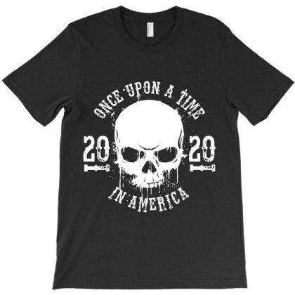 Skull Usa 2020 America T-shirt Designed By Designisfun
