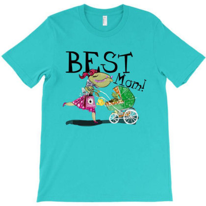 Best Mom T-shirt Designed By Belettelepink