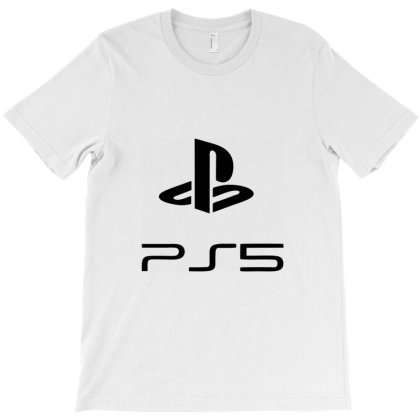 Play Station 5 Play T-shirt Designed By Dc47
