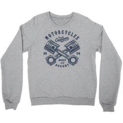 motorcycle custom vintage biker Crewneck Sweatshirt | Artistshot