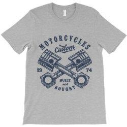 motorcycle custom vintage biker T-Shirt | Artistshot