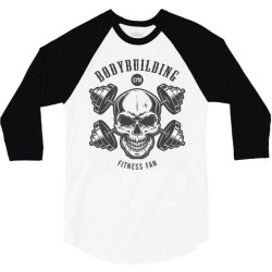 bodybuilding fitness gym workout 3/4 Sleeve Shirt   Artistshot