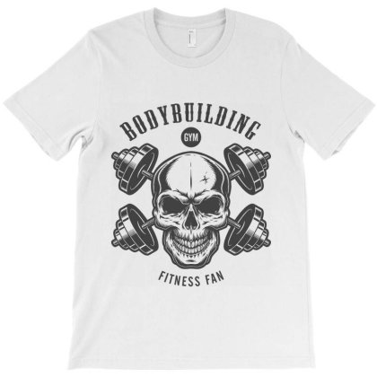 Bodybuilding Fitness Gym Workout T-shirt Designed By Designisfun