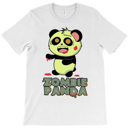 Zombie Panda T-shirt Designed By Vanotees