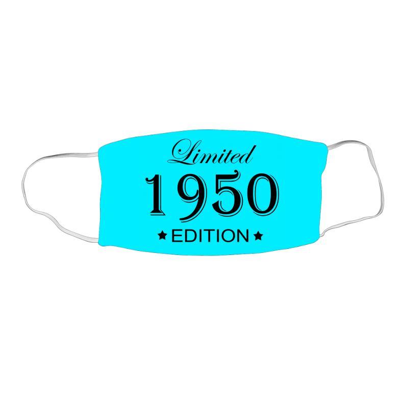 Limited Edition 1950 Face Mask Rectangle | Artistshot