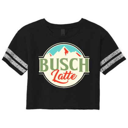 Vintage Busch Light Busch Latte Scorecard Crop Tee Designed By Joo Joo Designs