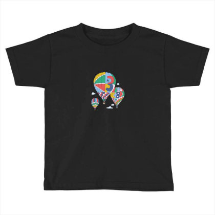 Balloon Toddler T-shirt Designed By Disgus_thing