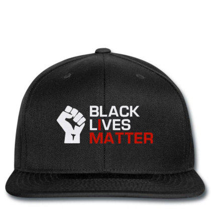 Black Lives Matter Embroidery Snapback Designed By Madhatter