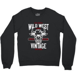 wild west vintage denim   2 Crewneck Sweatshirt | Artistshot