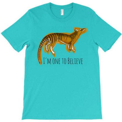 Believe In Thylacine #1 T-shirt Designed By Belettelepink