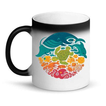 Aquarium Rainbow Magic Mug Designed By Cahyorin