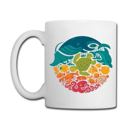 Aquarium Rainbow Coffee Mug Designed By Cahyorin