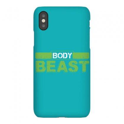 Body Beast Iphonex Case Designed By Tshiart