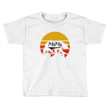 Mama Bear Toddler T-shirt Designed By Bettercallsaul