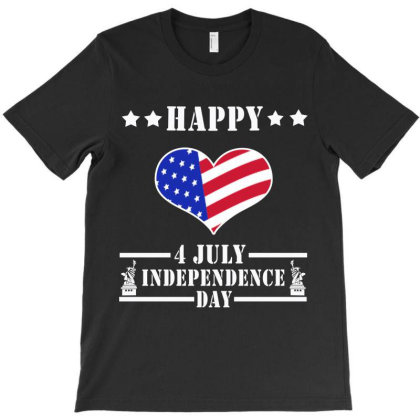 4th Of July T-shirt Designed By Elegance99
