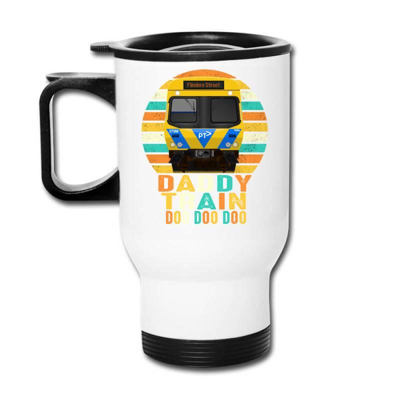 Daddy Train Doo Doo Doo Fathers Day 2020 Quarantined Vintage Travel Mug | Artistshot