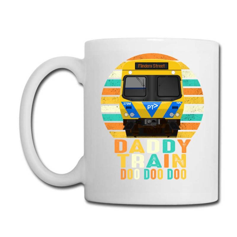 Daddy Train Doo Doo Doo Fathers Day 2020 Quarantined Vintage Coffee Mug | Artistshot
