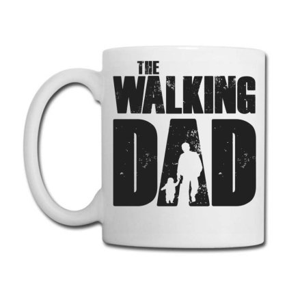 The Walking Dad Black Font Coffee Mug Designed By Akuasegar