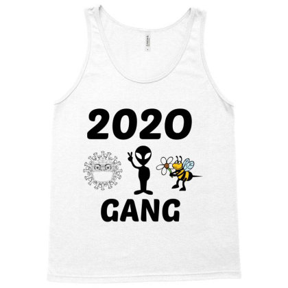 Gang 2020 Covid,alien,murder Hornet Tank Top Designed By Perfect Designers