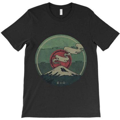 Fuji Mount T-shirt Designed By Mazikos