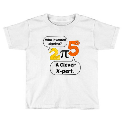 Algebra Expert Toddler T-shirt Designed By Perfect Designers