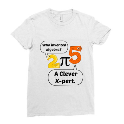 Algebra Expert Ladies Fitted T-shirt Designed By Perfect Designers