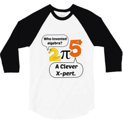 Algebra Expert 3/4 Sleeve Shirt Designed By Perfect Designers