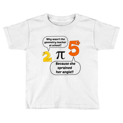Geometry Teacher At School Toddler T-shirt Designed By Perfect Designers