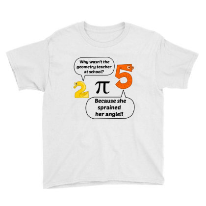 Geometry Teacher At School Youth Tee Designed By Perfect Designers