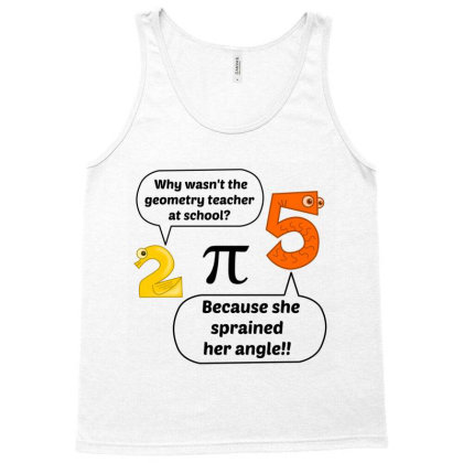 Geometry Teacher At School Tank Top Designed By Perfect Designers