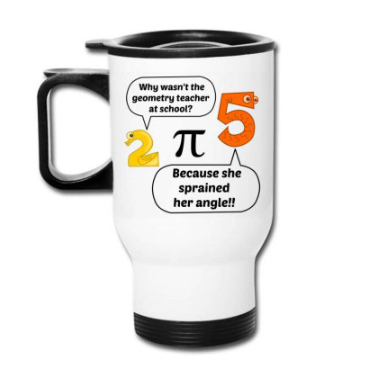 Geometry Teacher At School Travel Mug Designed By Perfect Designers
