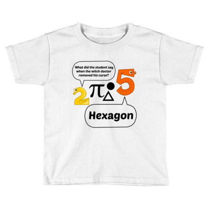 Hexagon Toddler T-shirt Designed By Perfect Designers