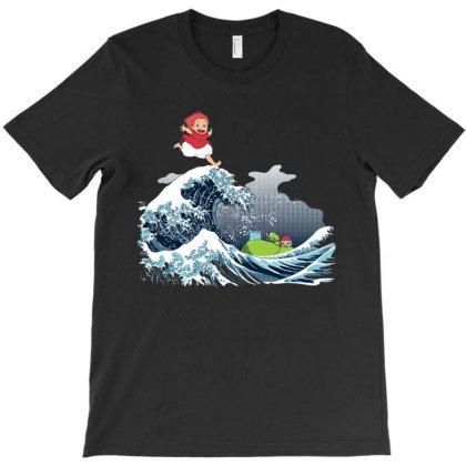 Studio Ponyo T-shirt Designed By Mazikos