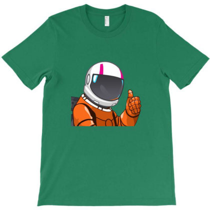 Astronaut T-shirt Designed By Asatya