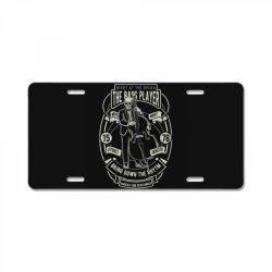bass player License Plate | Artistshot