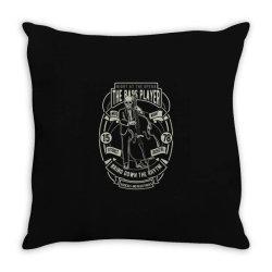 bass player Throw Pillow | Artistshot