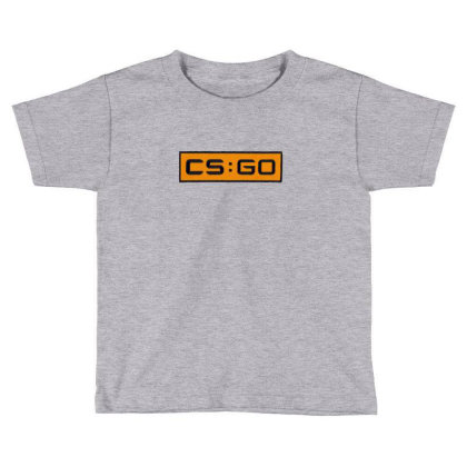 Counter Striker Global Offensive Logo Toddler T-shirt Designed By Asatya