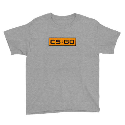 Counter Striker Global Offensive Logo Youth Tee Designed By Asatya