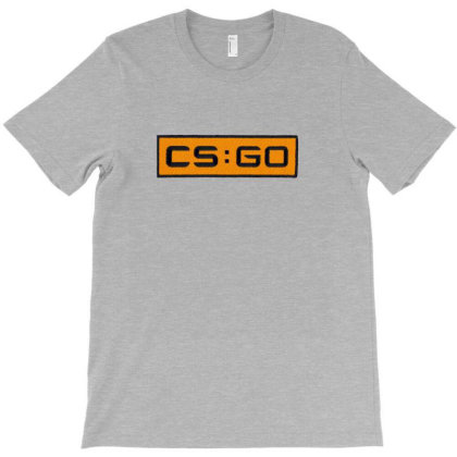 Counter Striker Global Offensive Logo T-shirt Designed By Asatya