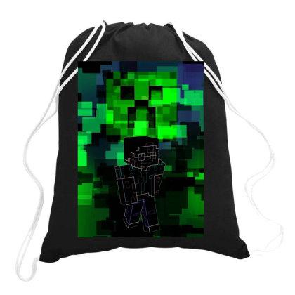 Minecraft Awakening Drawstring Bags Designed By Ryukrabit